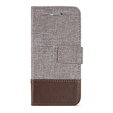 Maska Pentru Apple iPhone 8 iPhone 8 Plus Titluar Card Portofel Cu Stand Întoarce Carcasă Telefon Culoare solidă Greu PU piele pentru