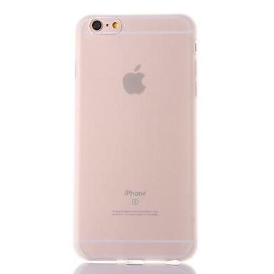 Voor iPhone X iPhone 8 Hoesje cover Mat Doorzichtig Achterkantje hoesje Effen Kleur Zacht TPU voor Apple iPhone X iPhone 7s Plus iPhone 8