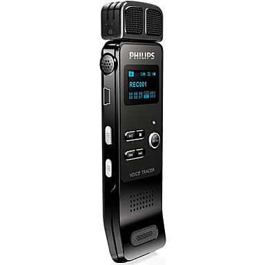 billige Digitale diktafoner-VTR7100 Genopladeligt Li-ion Batteri FM Radio / Indbygget Ud-højtaler 3.5mm Jack Support
