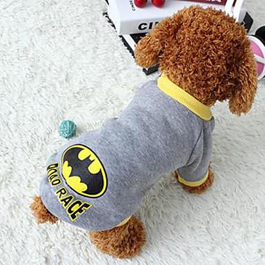 Câine Haine Îmbrăcăminte Câini Casul/Zilnic Desene Animate Gri Costume Pentru animale de companie