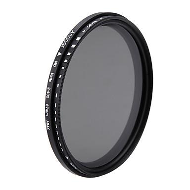 Andoer 67mm nd fader densitate neutră reglabil nd2 la nd400 filtru variabil pentru canon nikon dslr camera