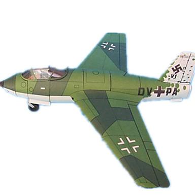 3D-puzzels Bouwplaat Modelbouwsets Vierkant Vliegtuig Vechter DHZ Hard Kaart Paper Klassiek Kinderen Jongens Unisex Geschenk
