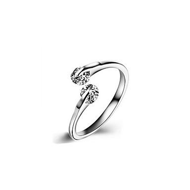 Dames Kinderen Ring Kubieke Zirkonia Uniek ontwerp Klassiek Liefde Verstelbaar Aanbiddelijk Hypoallergeen leuke Style Movie Jewelry