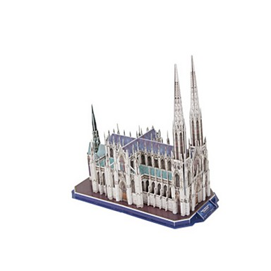 3D - Puzzle Holzpuzzle Spielzeuge Berühmte Gebäude Kirche Architektur 3D EPS+EPU keine Angaben Stücke