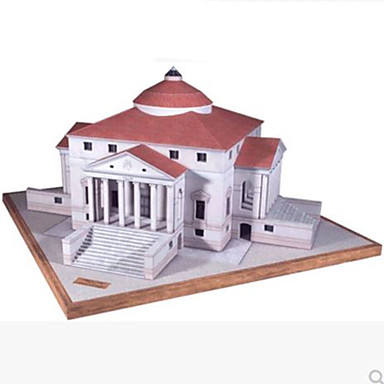 3D - Puzzle Papiermodel Papiermodelle Modellbausätze Berühmte Gebäude Architektur Heimwerken Hartkartonpapier Klassisch Kinder Jungen
