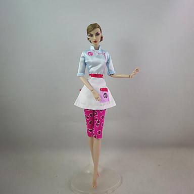 Draguț Rochie Pentru Barbie Doll Poliester Rochie Pentru Fata lui păpușă de jucărie