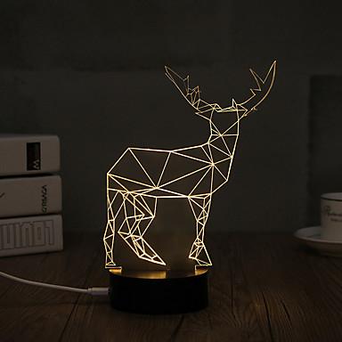 الصمام ليلة الخفيفة أضواء USB إضاءة الديكور-0.5W-USB ديكور - ديكور
