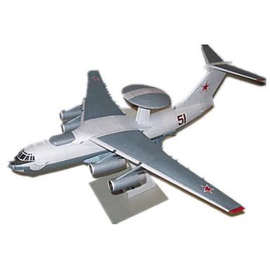 Puzzle 3D Modelul de hârtie Pătrat Aeronavă Reparații Hârtie Rigidă pentru Felicitări Unisex Cadou