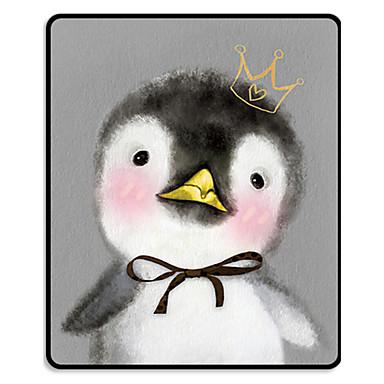 mr.viv ط لطيف الحيوان الأسود قفل البطريق وسادة الوسادة ماتس 24 * 20 * 0.3 سنتيمتر
