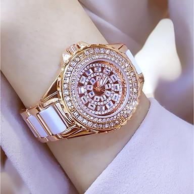 Pentru femei Ceas Brățară Unic Creative ceas Ceas Casual Simulat Diamant Ceas Ceasuri Pave Ceas Elegant  Ceas La Modă Ceas de Mână Chineză