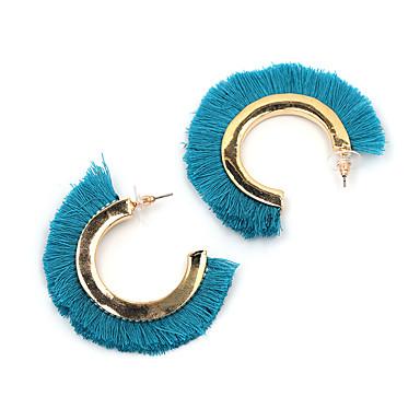 Dames Oversized Druppel oorbellen - Gepersonaliseerde Oversized Met de Hand Gemaakt Magneettherapie Zwart Oranje Grijs Blauw Geometrische