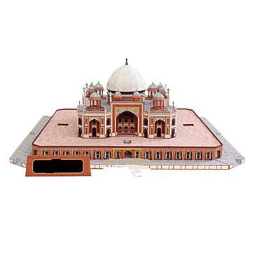 3D - Puzzle Papiermodel Modellbausätze Papiermodelle Burg Berühmte Gebäude Pferd Architektur 3D Heimwerken Klassisch Alle Altersgruppen