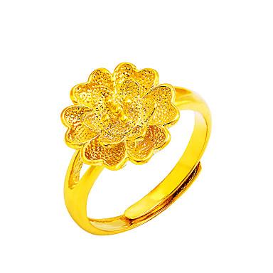 Damen Stulpring Statementringe Ring Basis Modisch Einstellbar Blumen Kupfer Kreisform Blumenform Schmuck Für Besondere Anlässe Geburtstag