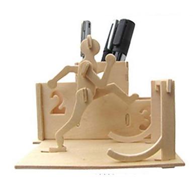 3D-puzzels Legpuzzel Modelbouwsets Overige 3D DHZ Natuurlijk Hout Klassiek Unisex Geschenk