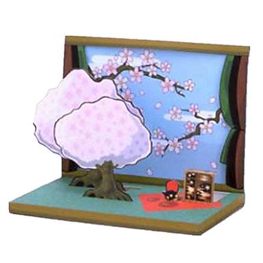 3D - Puzzle Papiermodelle Rechteckig 3D Einrichtungsartikel Heimwerken Unisex Geschenk