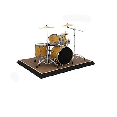 قطع تركيب3D نموذج الورق أشغال الورق مجموعات البناء أدوات الموسيقى مجموعة طبول محاكاة مواد تأثيث اصنع بنفسك ورق صلب كلاسيكي آلات موسقية