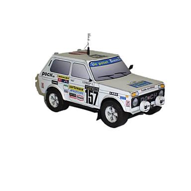 Speelgoedauto's 3D-puzzels Legpuzzel Papierkunst Speeltjes Automatisch 3D DHZ Simulatie Unisex Stuks