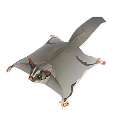 3D - Puzzle Papiermodel Modellbausätze Spielzeuge Quadratisch Tiere Heimwerken Hartkartonpapier keine Angaben Stücke