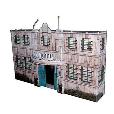 3D - Puzzle Papiermodelle Windmühle Berühmte Gebäude Architektur 3D Heimwerken Hartkartonpapier Klassisch 6 Jahre alt und höher