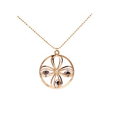 Pentru femei Coliere cu Pandativ - Personalizat, Γεωμετρικά, Design Unic Auriu Coliere Pentru Cadouri de Crăciun, Nuntă, Petrecere