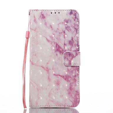 Hülle Für Samsung Galaxy S8 Plus S8 Kreditkartenfächer mit Halterung Flipbare Hülle Muster Ganzkörper-Gehäuse Marmor Hart PU-Leder für S8