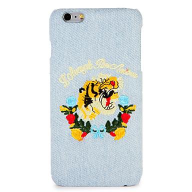 Casefor apple iphone 7 plus / 7 copertă spate copertă caz cuvânt / frază animale de companie hard iphone 6s plus / 6 plus / 6s / 6
