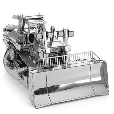 Spielzeug-Autos 3D - Puzzle Metallpuzzle Lastwagen Baustellenfahrzeuge Bulldozer Spielzeuge LKW 3D Heimwerken Chrom Metal keine Angaben