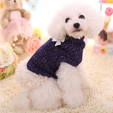 Hund Pullover Hundekleidung warm halten Solide Kostüm Für Haustiere
