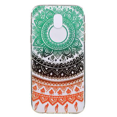hoesje Voor Samsung Galaxy J7 (2017) J3 (2017) Patroon Achterkantje Lace Printing Zacht TPU voor J7 (2017) J5 (2017) J3 (2017)