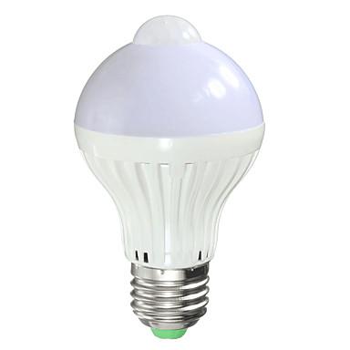 7W 650lm Smart LED Glühlampen A60(A19) 14 LED-Perlen SMD 5730 Infrarot-Sensor Lichtsteuerung Menschlicher Körper Sensor Warmes Weiß