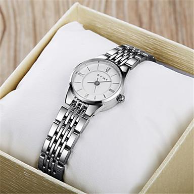 Dames Modieus horloge Kwarts Legering Band Zwart Wit