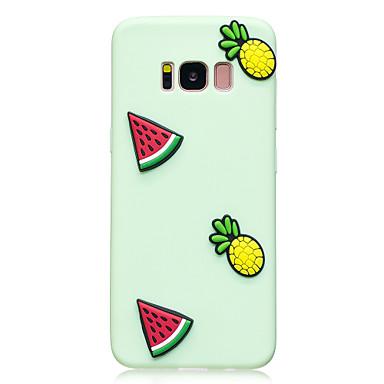 hoesje Voor Samsung Galaxy S8 Plus S8 Patroon DHZ Achterkantje Fruit Zacht TPU voor S8 S8 Plus S7 edge S7