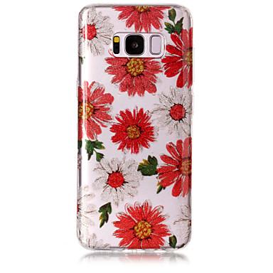 hoesje Voor Samsung Galaxy S8 Plus S8 IMD Patroon Achterkant Bloem Glitterglans Zacht TPU voor S8 Plus S8 S7 edge S7 S6 edge S6