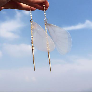 Dames Druppel oorbellen - Modieus, Euramerican Goud Voor Feest