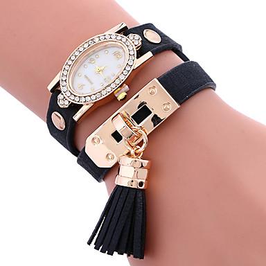 Pentru femei Unic Creative ceas Ceas Brățară Ceas La Modă Ceas Sport Ceas Casual Quartz cald Vânzare PU Bandă Charm Lux Creative Casual