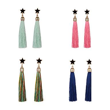 Dames Druppel oorbellen Acryl Tupsu Legering Ster Sieraden Dagelijks gebruik Toneel Kostuum juwelen