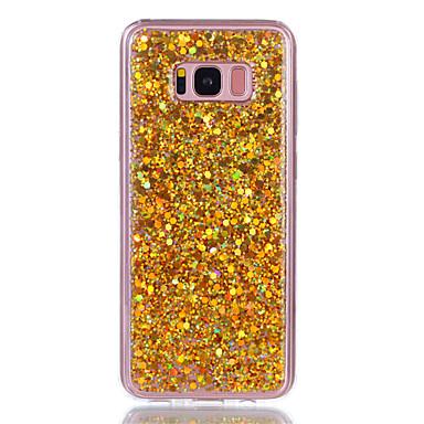 غطاء من أجل Samsung Galaxy S8 Plus S8 حجر كريم IMD غطاء خلفي بريق لماع قاسي أكريليك(Acrylic) إلى S8 S8 Plus S7 edge S7 S6 edge S6 S5
