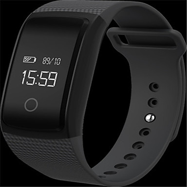 Heren Slim horloge Modieus horloge Digitaal Silicone Band Zwart Wit Blauw Bruin