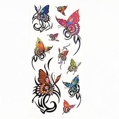 Acțibilde de Tatuaj Serie de Animale Model Spate Zona De Jos Waterproof Dame Bărbați Adolescent tatuaj flash Tatuaje temporare