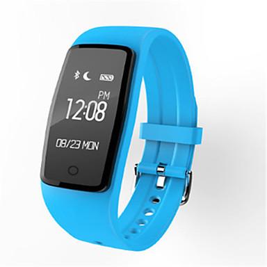 Dames Slim horloge Digitaal Silicone Band Zwart Blauw Roze