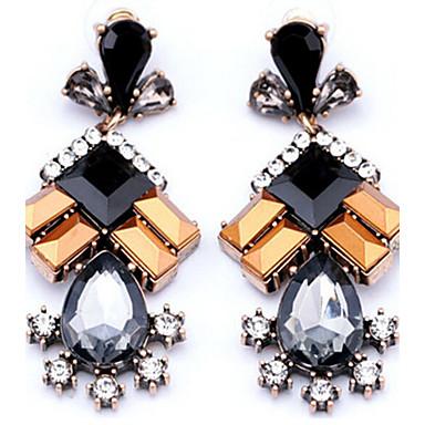 Pentru femei Cercei Picătură La modă Euramerican costum de bijuterii Reșină Aliaj Geometric Shape Bijuterii Pentru Petrecere