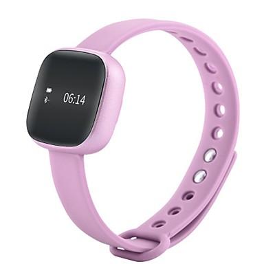 Damen Smart Uhr digital Silikon Band Schwarz Rosa