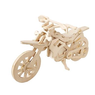 3D - Puzzle Holzpuzzle Holzmodelle Flugzeug Motorrad Berühmte Gebäude Architektur 3D Heimwerken Kartonpapier Holz Klassisch 6 Jahre alt