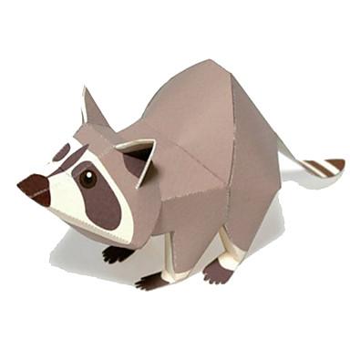 قطع تركيب3D نموذج الورق أشغال الورق مجموعات البناء مربع دب 3D الحيوانات اصنع بنفسك كلاسيكي كرتون للأطفال للجنسين هدية