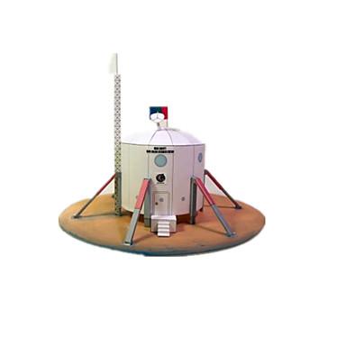 3D - Puzzle Holzpuzzle Papiermodelle Modellbausätze Raumschiff Mars Rover Simulation Einrichtungsartikel Heimwerken Klassisch Unisex