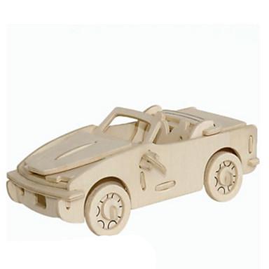 3D - Puzzle Metallpuzzle Holzmodelle Modellbausätze Auto Heimwerken Naturholz Klassisch Kinder Erwachsene Unisex Geschenk