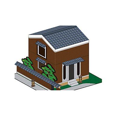 Puzzle 3D Modelul de hârtie Lucru Manual Din Hârtie Μοντέλα και κιτ δόμησης Clădire celebru Casă Arhitectură 3D Reparații Clasic Unisex