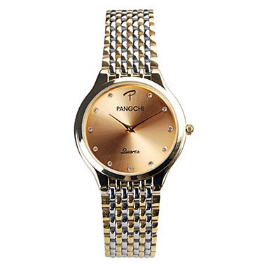 Heren Dress horloge Modieus horloge Kwarts Waterbestendig Legering Band Zilver