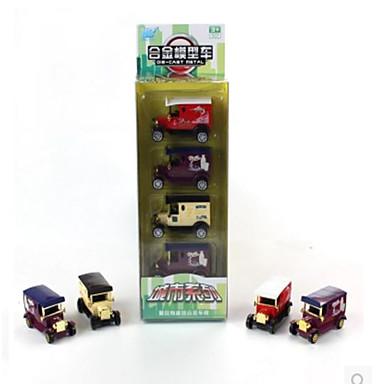 Speelgoedauto's Gegoten voertuigen Speeltjes Terugtrekvoertuigen Motorfietsen Speeltjes Rechthoekig Metaallegering Stuks Niet
