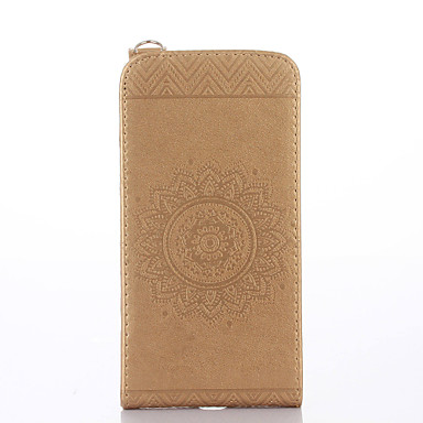 Hülle Für LG G3 Mini LG G3 LG LG G5 Kreditkartenfächer mit Halterung Flipbare Hülle Geprägt Ganzkörper-Gehäuse Volltonfarbe Blume Hart